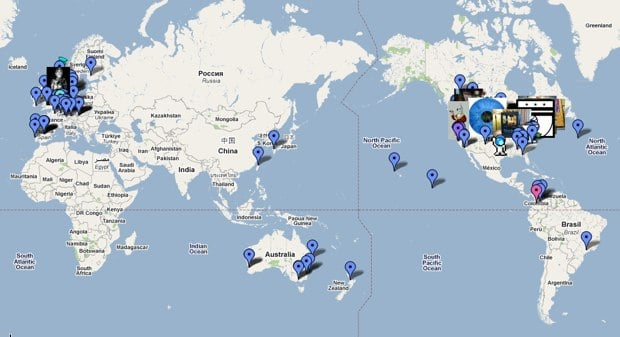 World Wide Makerbot Map - Google Maps