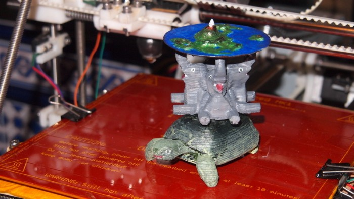 Discworld Figurine by aesedepece