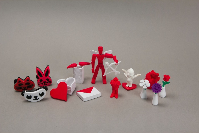 MakerBot Valentines Gumball Collection
