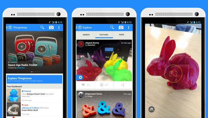 Image result for thingiverse app