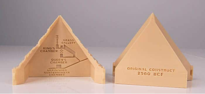 the difficulties of constructing a scale model of the great pyramids of giza Building a pyramid a hands-on exercise construct a scale model of the great pyramid at giza in the extension questions students are asked to use given formulas.