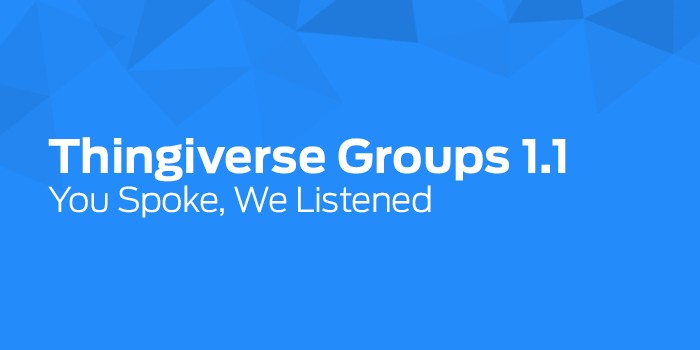 ThingiverseGroups
