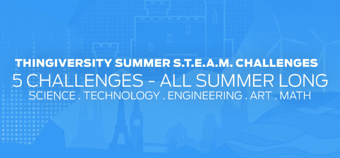 Thingiverse Summer STEAM Challenges