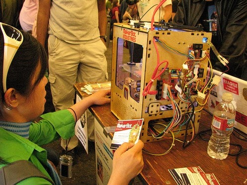 MakerBots will Swarm at the Boston Maker Faire on April 24th.