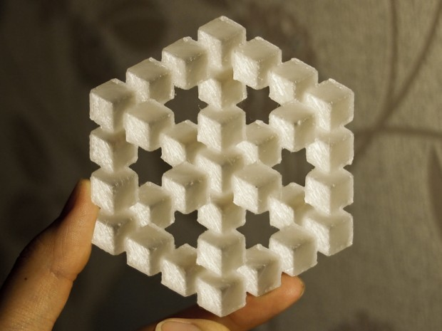 Thingiverse Thingalert: Penrose Cube Illusion by chylld