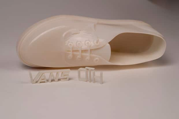 3D Printed Vans for Off the Hook Store Opening
