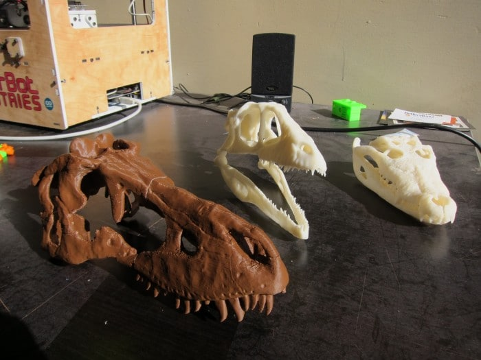 Dinobots (or Makersaurus?): getting skulls to print right