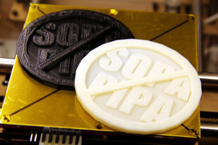 Print This Coin and Stop SOPA, PIPA!