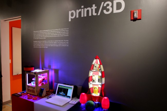 "MakerBot Featured in Material ConneXion's ""Print/3D"" Exhibition"
