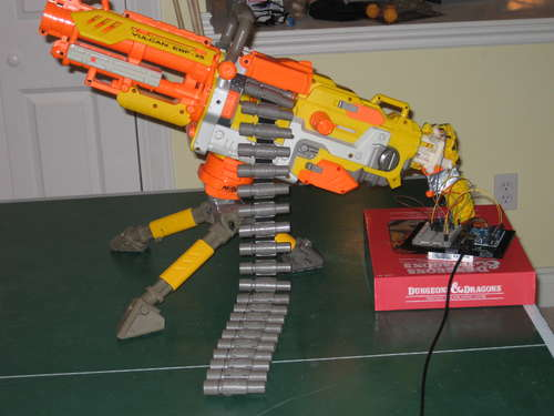 The Race Continues: Automatic (NERF) Weapons