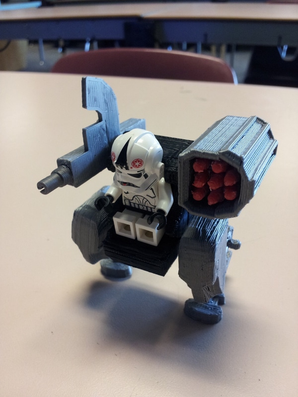 Mecha Blocks – Mech Units for Minifigs
