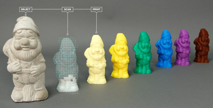 MakerBot Digitizer: Scan To Print In No Time