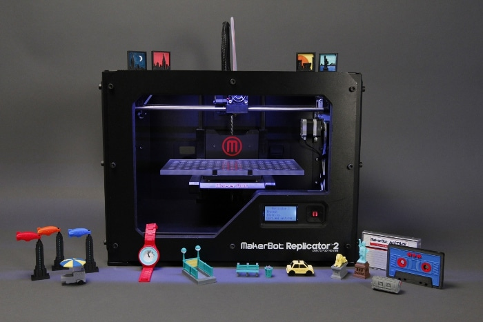 "MakerBot Joins The MoMA ""Destination: NYC"" Design Collection"