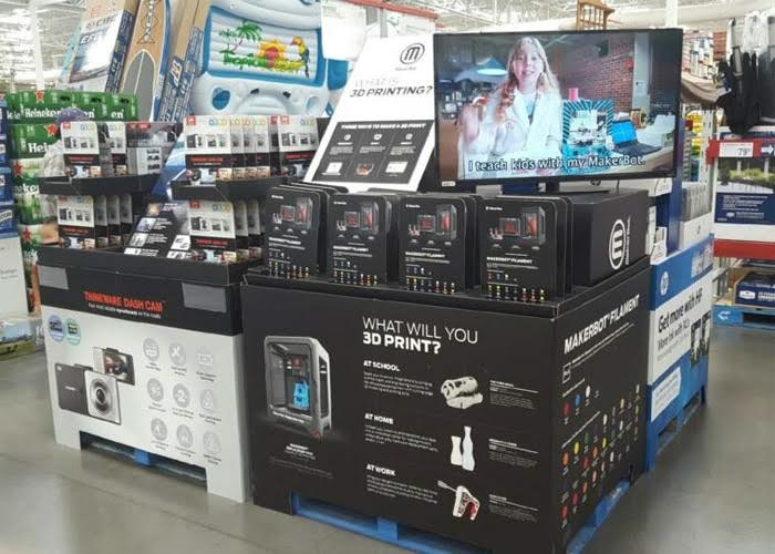 Sams-club-instore-MakerBot-Mini
