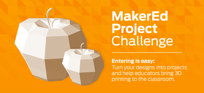 MakerBot Thingiverse Launches #MakerEd Challenge