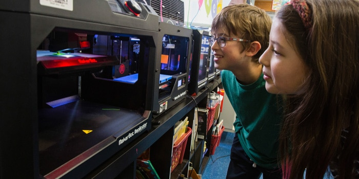 PS 15 Advances Project-Based Learning with MakerBot