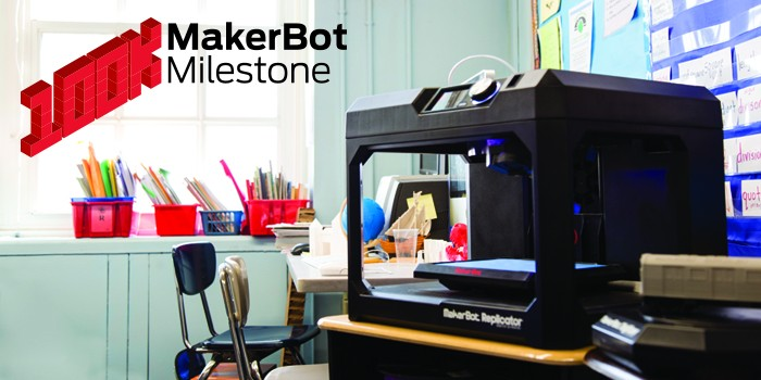 MakerBot Reaches Milestone: 100,000 3D Printers Sold Worldwide